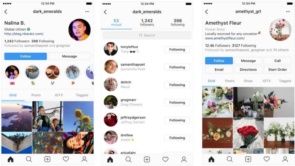 Instagram promijenio profile - pogledajte novitete