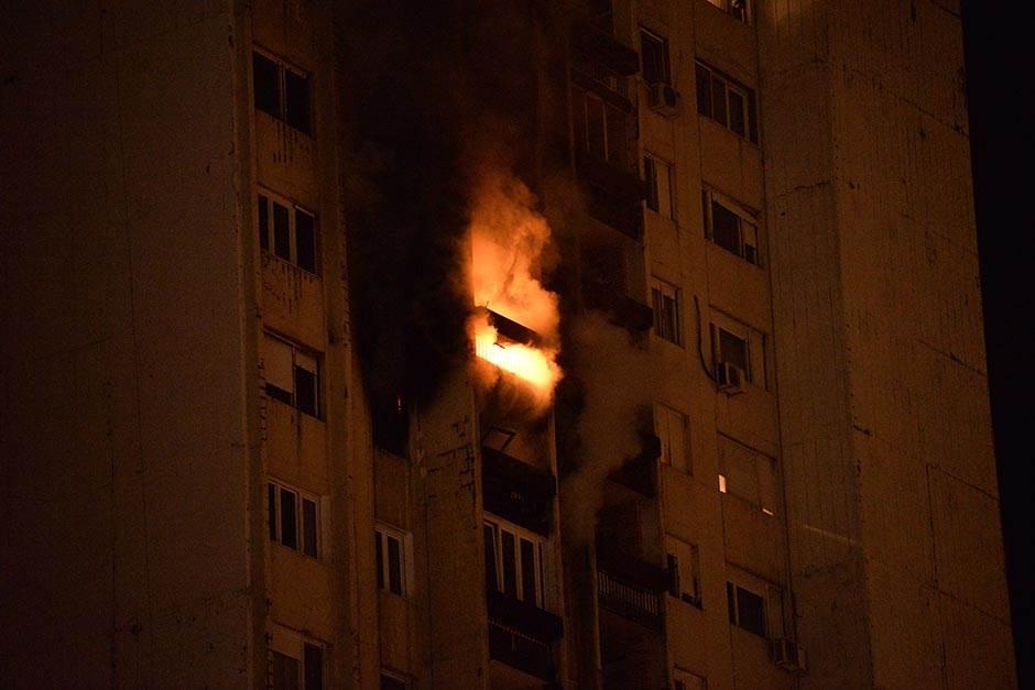 požar blok 63, soliter