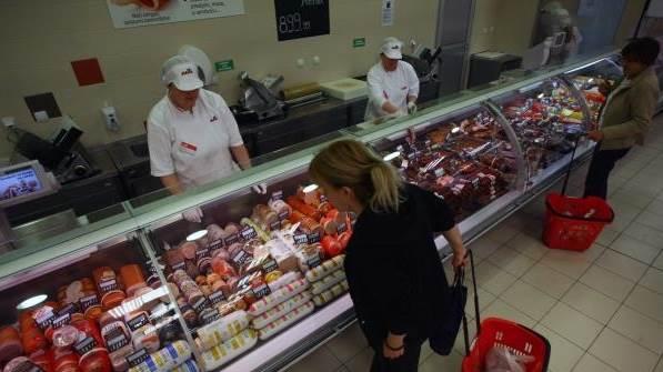 prodavnica prodavnice kupci potrošači meso mesne kupac
