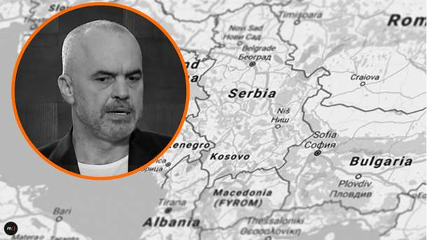 Edi Rama Kosovo Albanija Balkan velika Albanija Rama