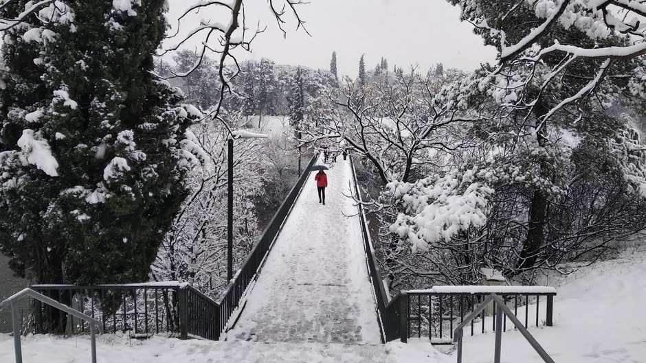 Snijeg u Podgorici