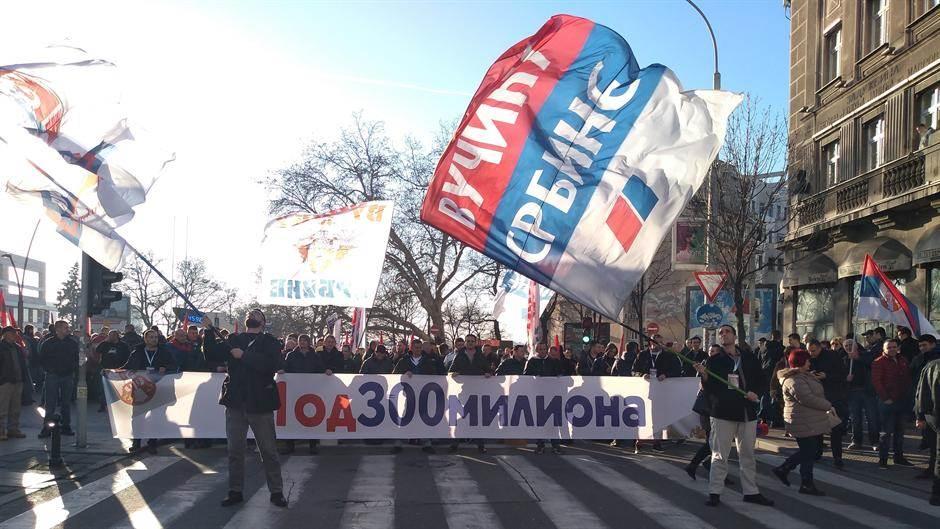 Putin, Vučić, podrška građana