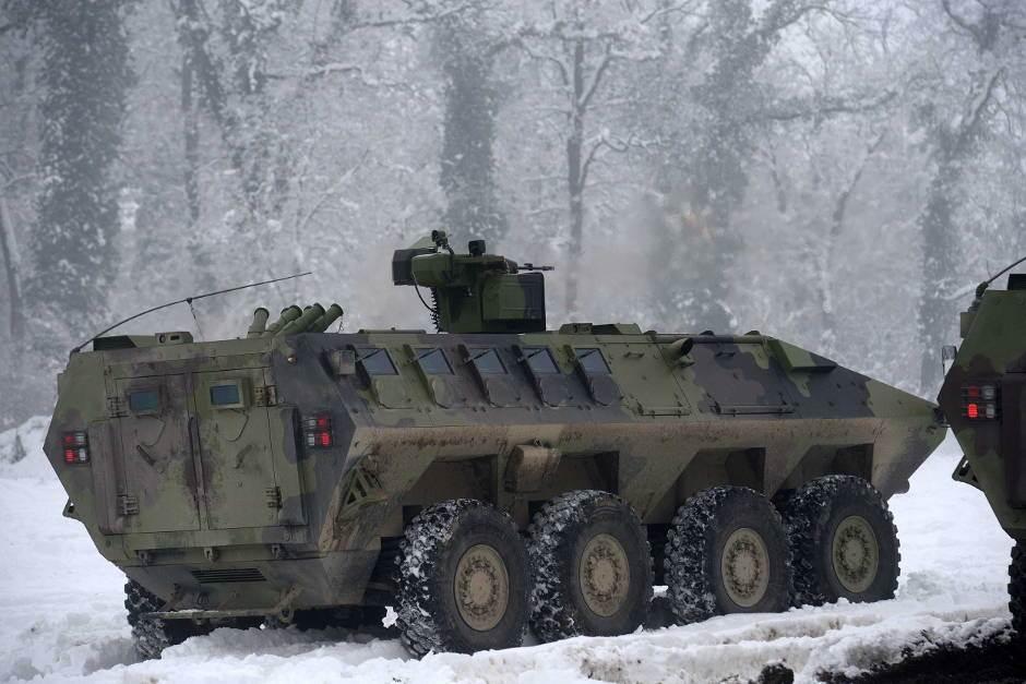 nikinci, lazar 3, oklopno vozilo, vojska srbije