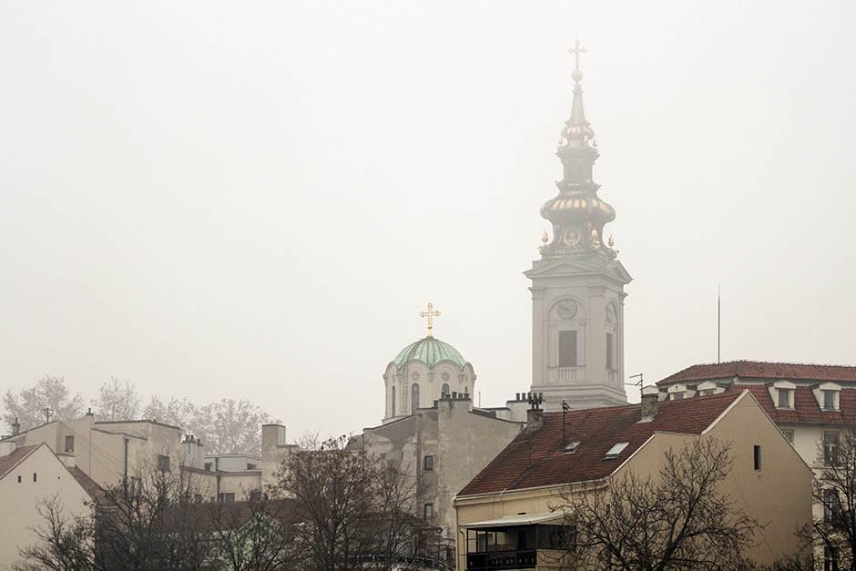 Beograd opet među najzagađenijim u svijetu! (FOTO)