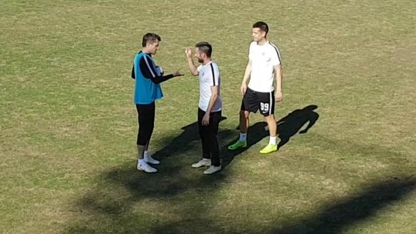 Partizan, trening Partizana