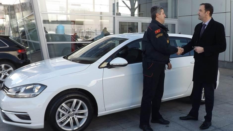 Ovo je novi presretač u Upravi policije (FOTO)