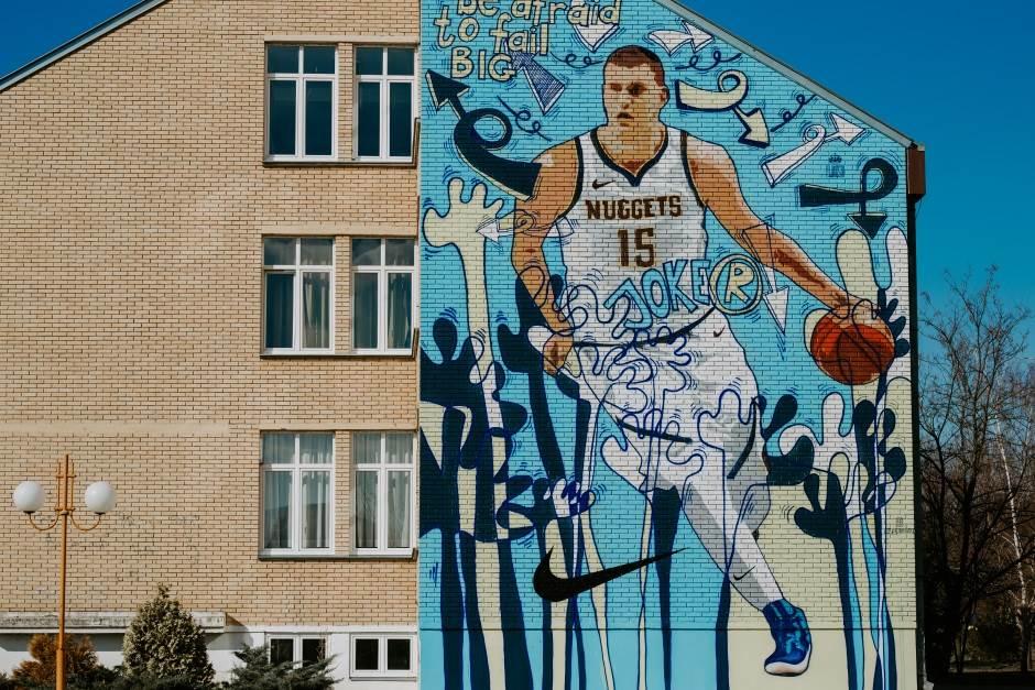 Nikola Jokić, mural Nikola Jokić