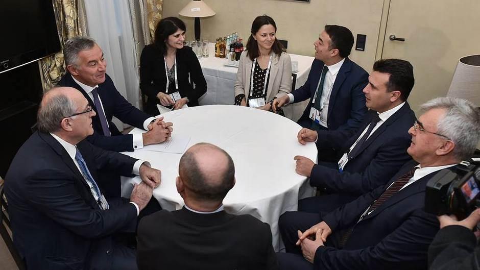 ZAEV I ĐUKANOVIĆ ZAJEDNO U MINHENU: Crna Gora najbolji prijatelj Makedonije