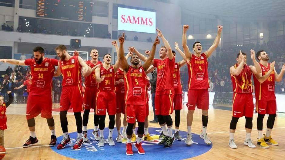 Crna Gora, košarka, reprezentacija