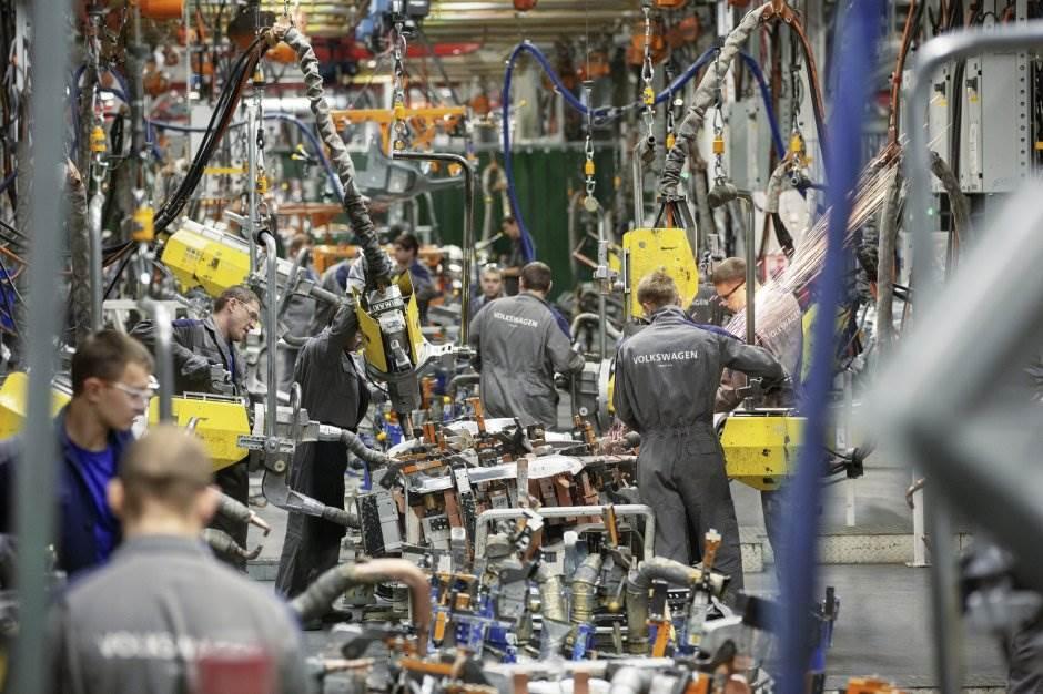 folksvagen fabrika