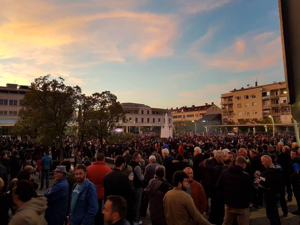 protest, Podgorica, Odupri se