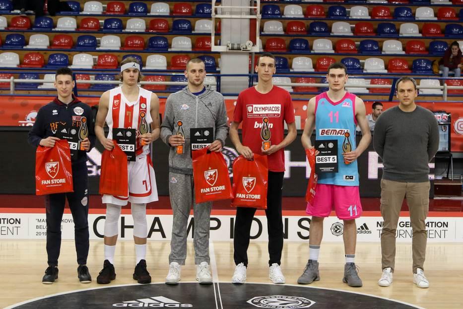 Aleksej Pokuševski, Nemanja Popović, Aleksandar Langović, Djordje Topalović