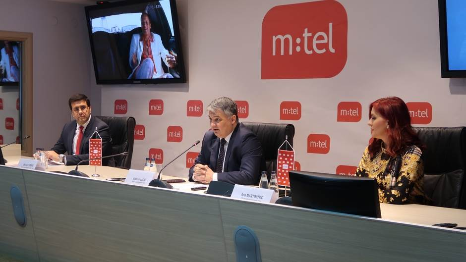 M:tel, Vladimir Lučić, Milivoje Cerović, Ana Martinović