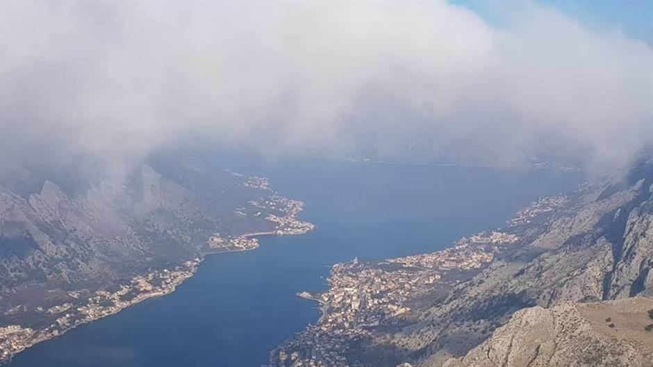Boka Kotorska, Kotor, pogled, more