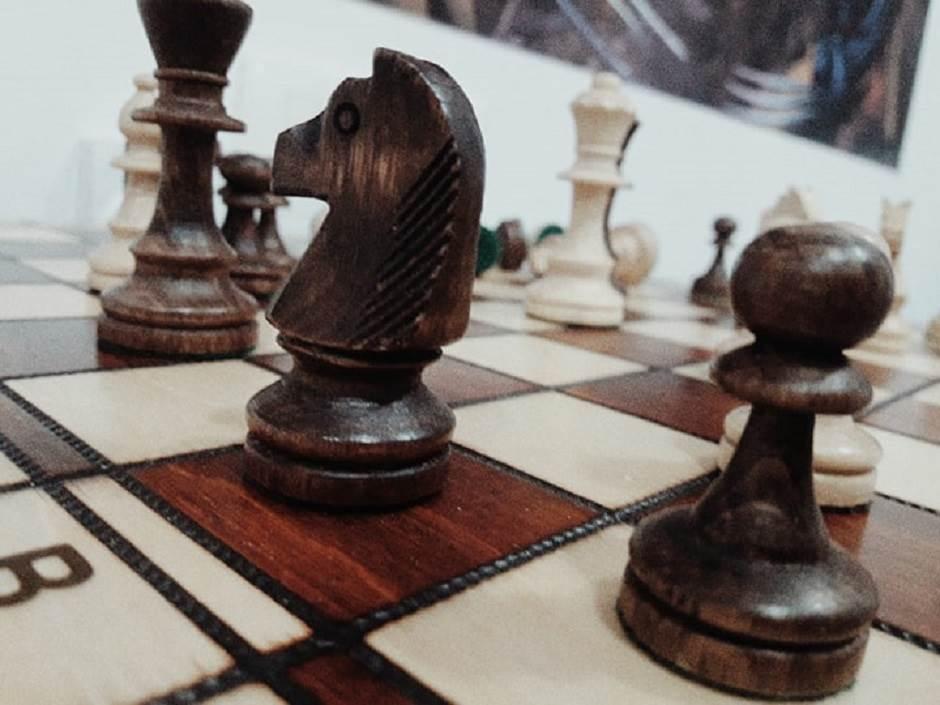 šah, konj, pješak