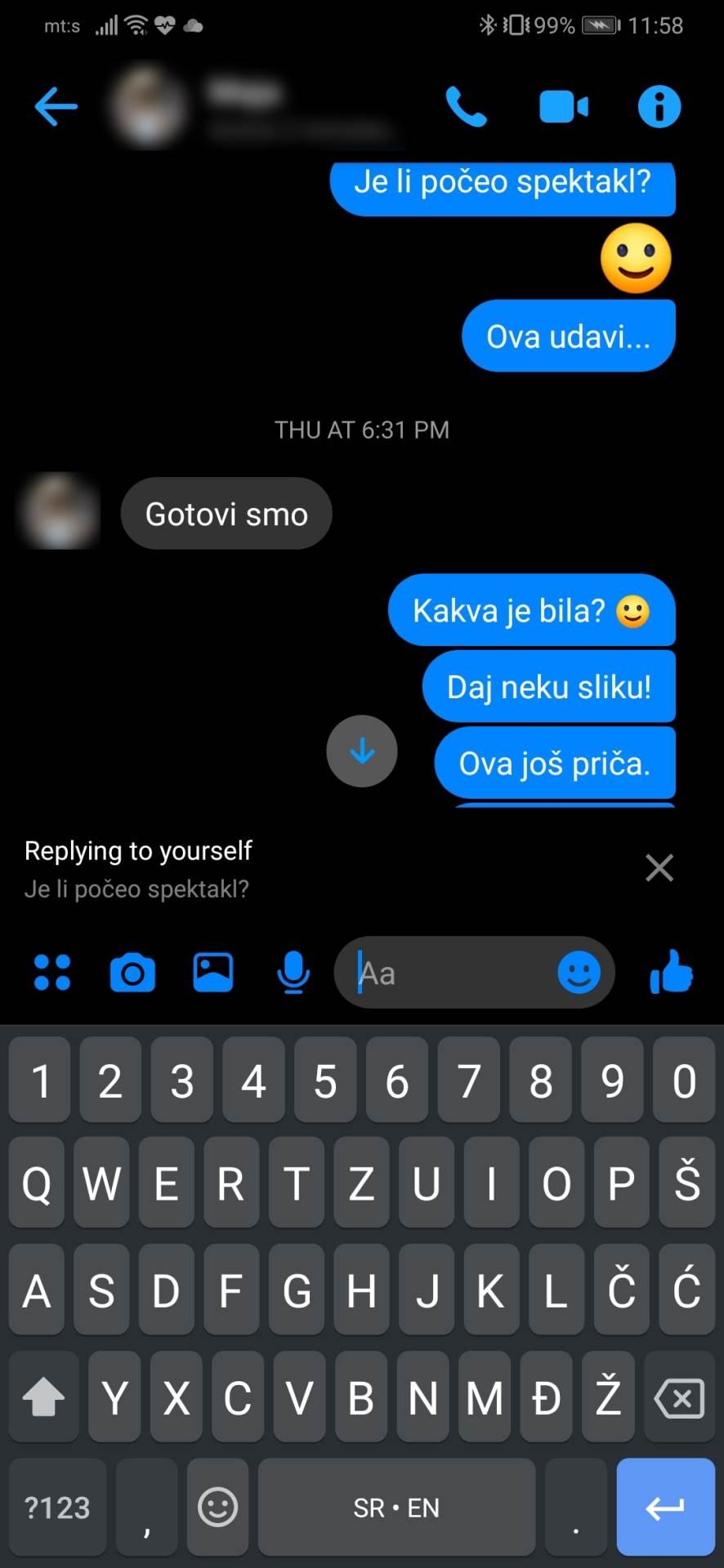 Sjajna Messenger opcija, koju vjerovatno ne znate FOTO
