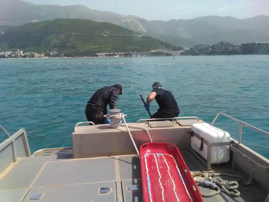 Budva: Nađen leš u moru (FOTO)