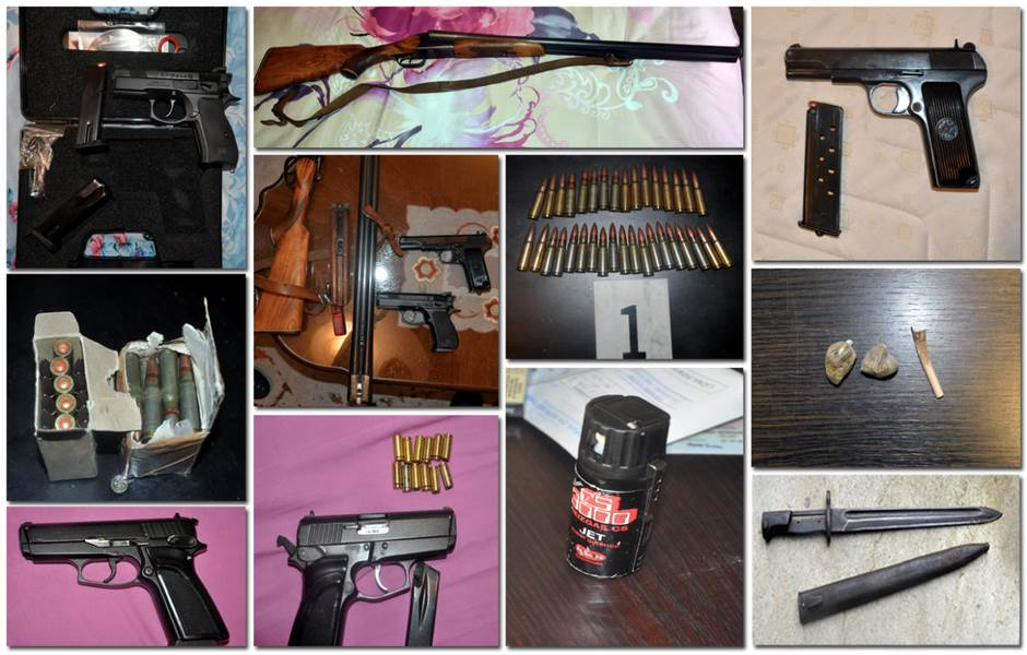 Podgorica: Pronađeni oružje, municija i droga