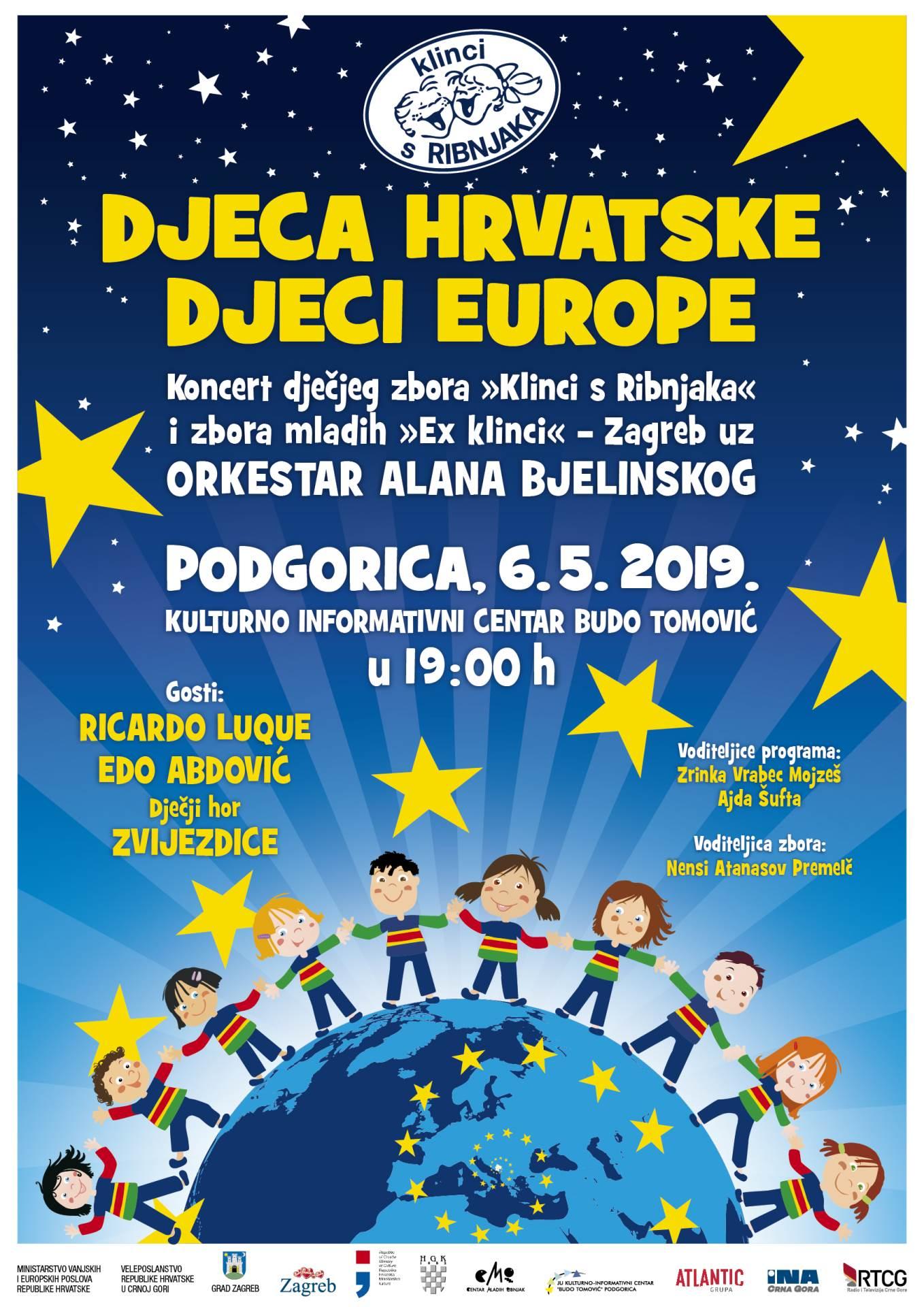 Koncert dječijih horova u ponedjeljak u KIC-u