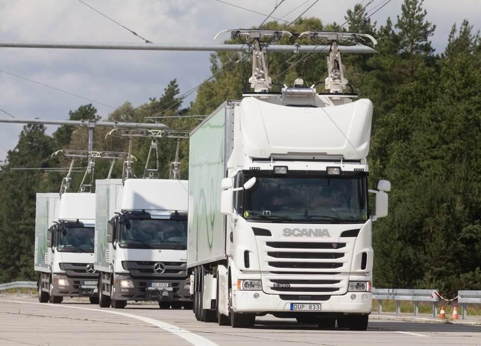 hibridni kamioni
