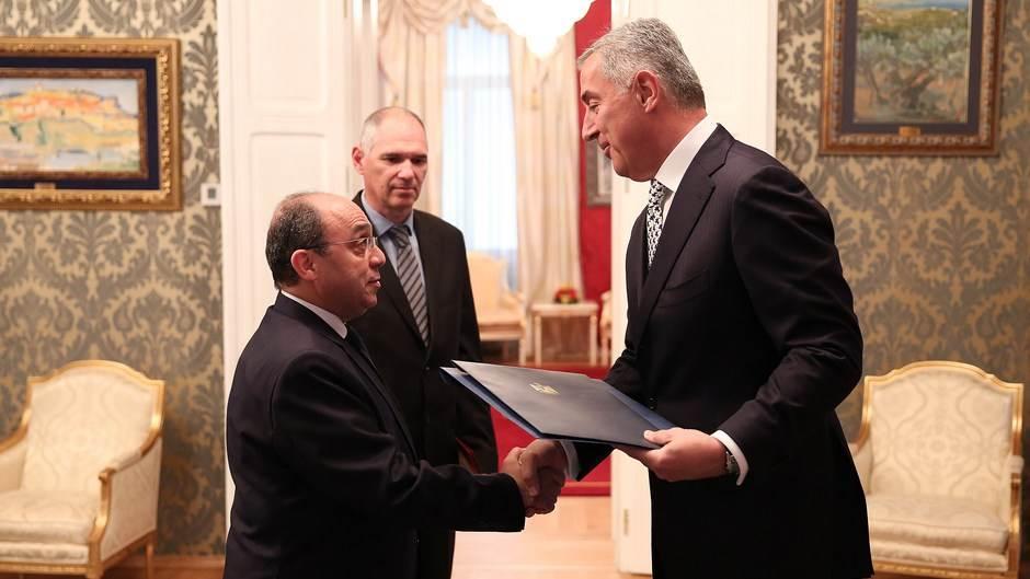 Predsjednik Đukanović primio novoimenovane ambasadore