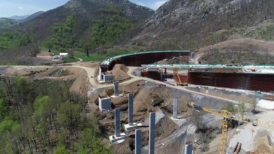 Bemax će radove na autoputu Bar-Boljare završiti u roku