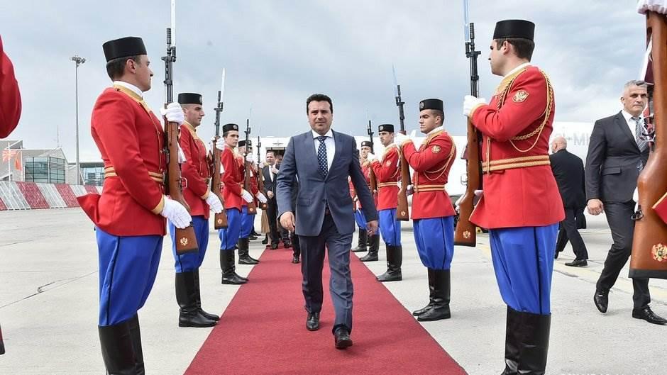 Zaev stigao u Crnu Goru