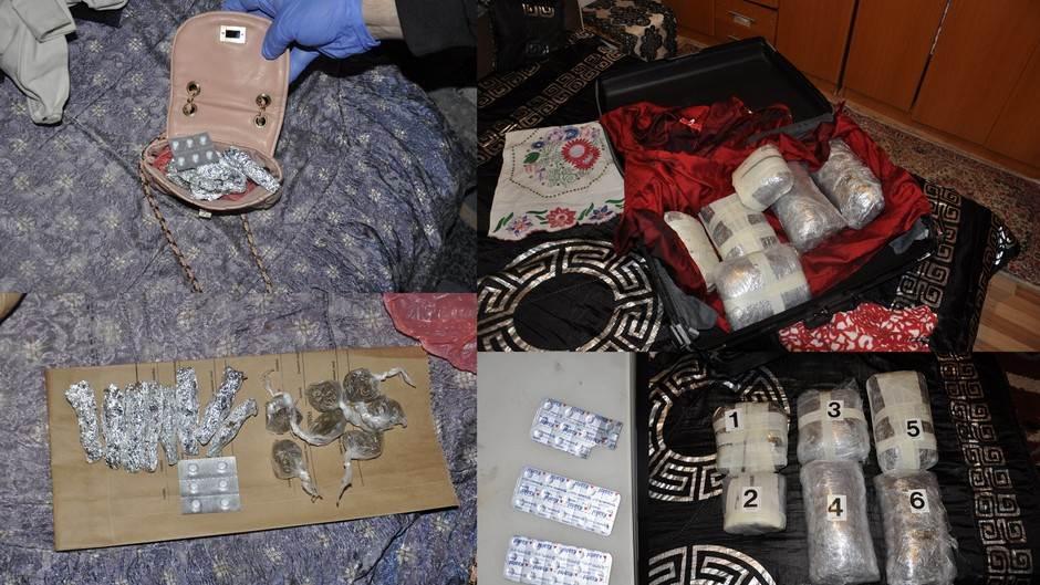 Zaplijenjena marihuana i tablete, uhapšene tri osobe