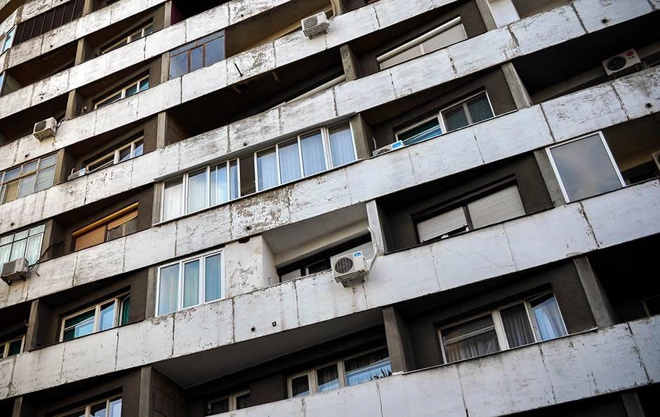 beograd, zgrada, socijalistička, socijalizam, fasada, arhitektura,