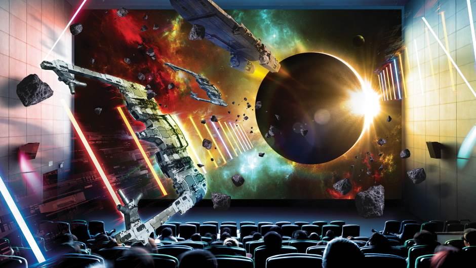 Samsung Onyx Bioskop, Bioskopsko platno, Bioskop, LED