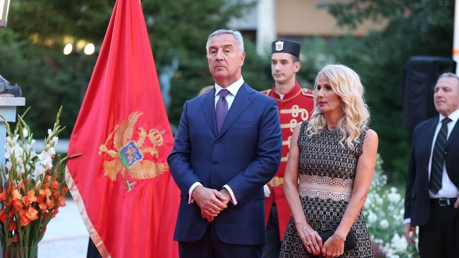 Đukanoviću Dan državnosti čestitali Erdogan,Matarela...