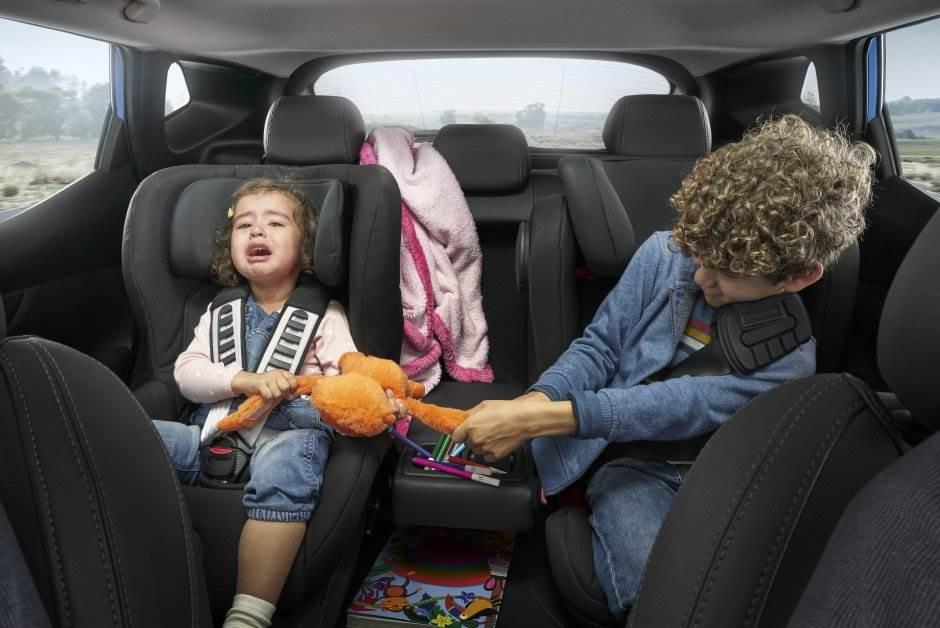 vožnja, putovanja, putovanje, deca, nervoza