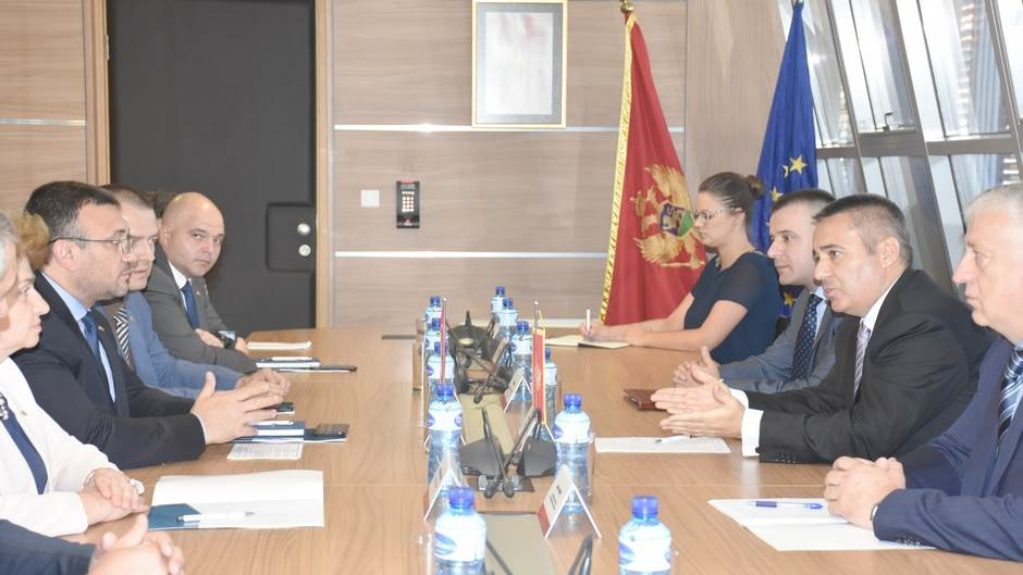 Sastanak direktora UP Veselina Veljovića sa ministrom unutrašnjih poslova Bugarske