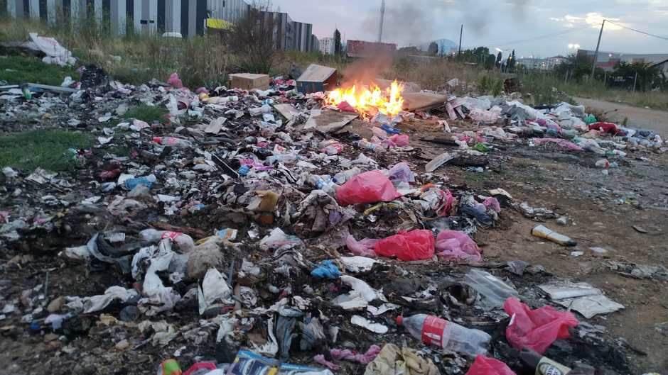 paljenje smeća, nelegalne deponije