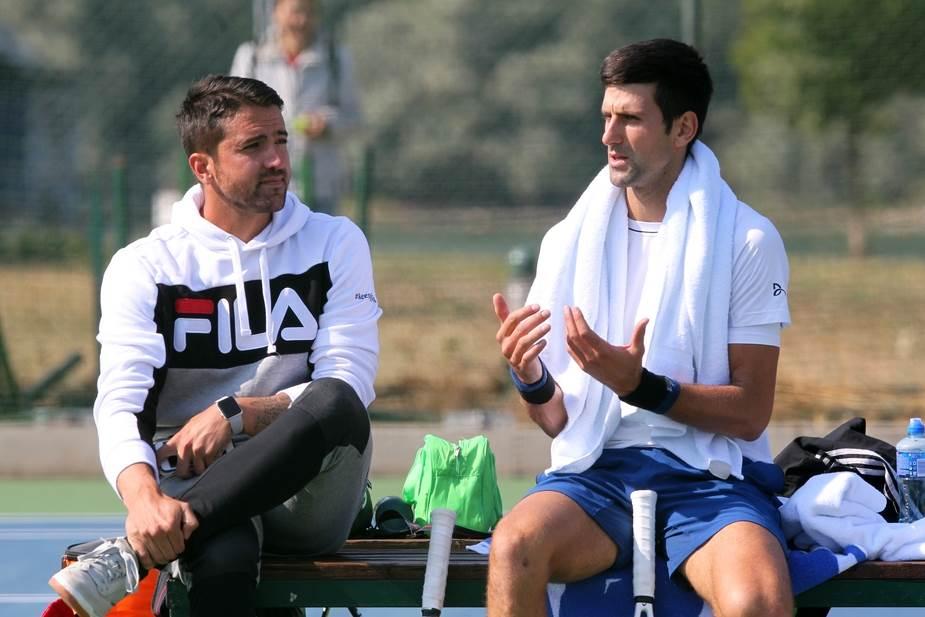 Janko Tipsarević, Novak Đoković, Novak Djokovic, Tipsarevic