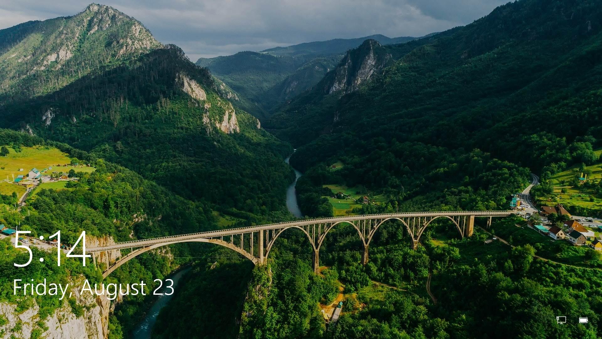 Slika mosta na Tari krasi MILIONE računara u svijetu