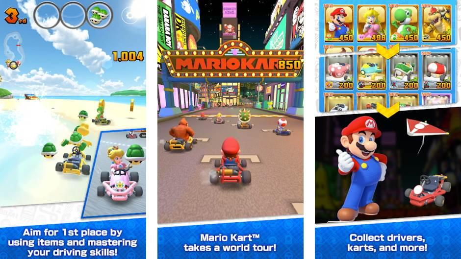 Super Mario Kart Tour besplatno download igra iOS Android 25. septembar 2019.