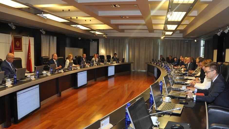 sjednica, Vlada Crne Gore