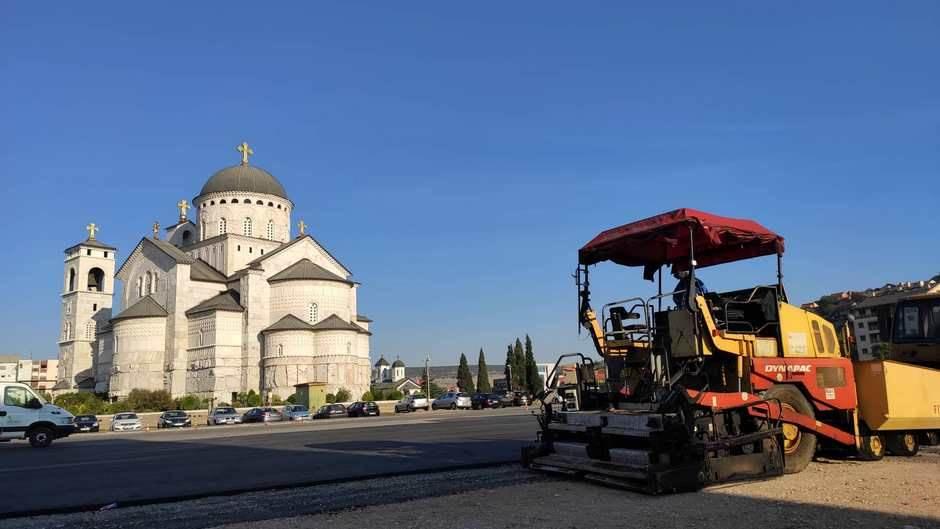 Zatvara se parking kod Rektorata, novi kod Hrama