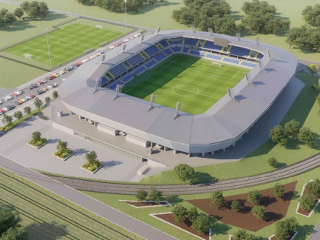 Srbija gradi stadion u Kosovskoj Mitrovici!