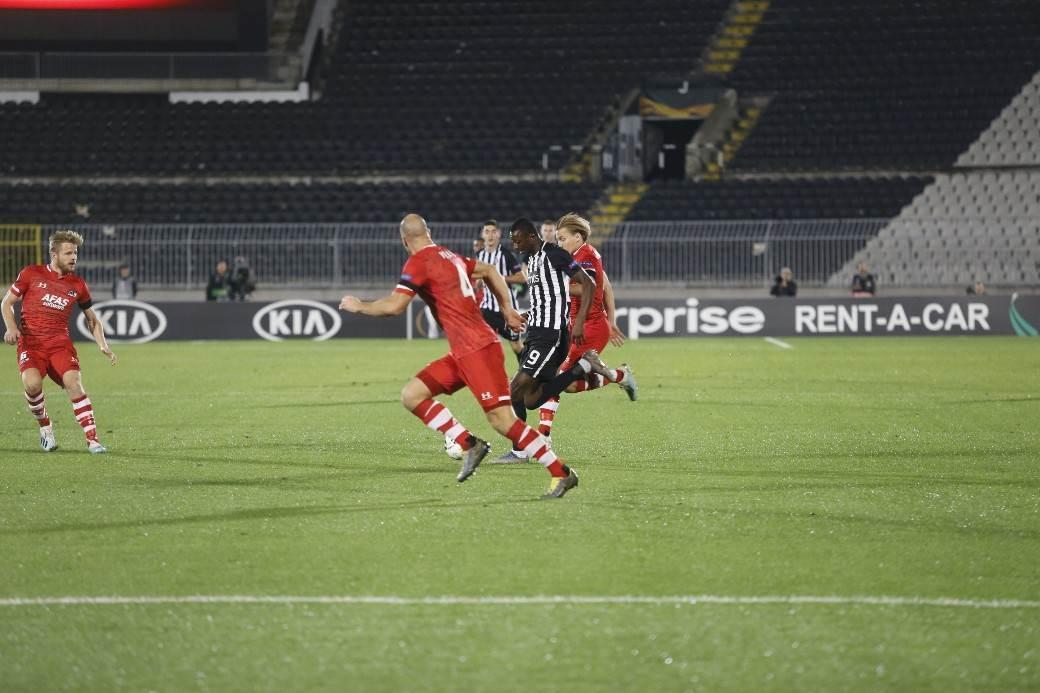 Partizan - AZ Alkmar (vodeći gol holandske ekipe)