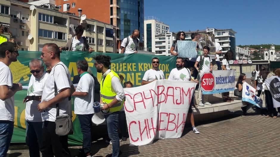 Završen protest KOR-a: Ovo je 10 zahtjeva
