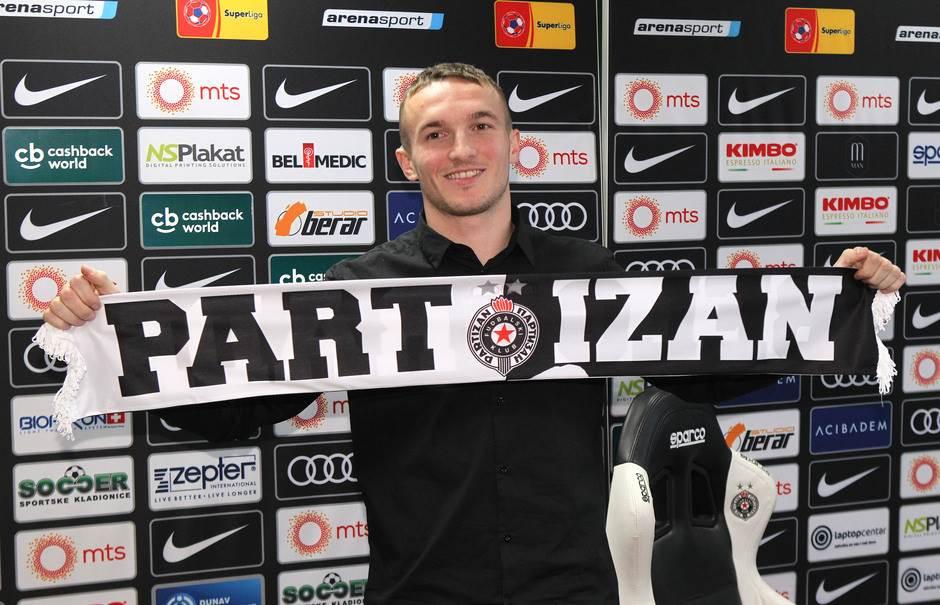 Kako je Ivanović stao uz legende Partizana