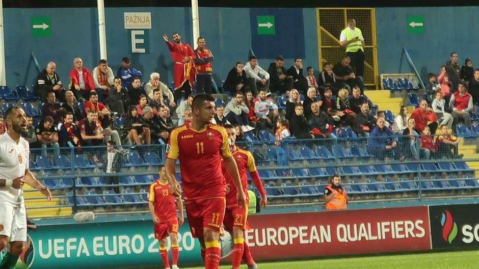 Fatos Bećiraj, Fudbalska reprezenracija Crne Gore, Crna Gora Bugarska