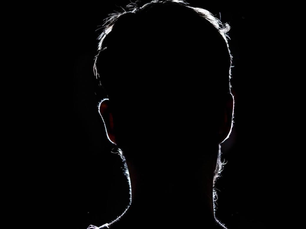 muškarac senka, nepoznat, u senci