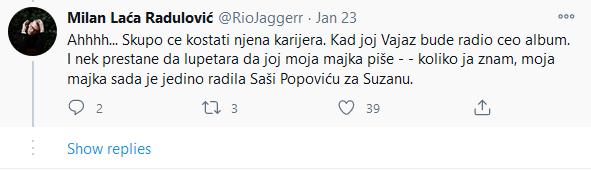 Laća Radulović o Ceci