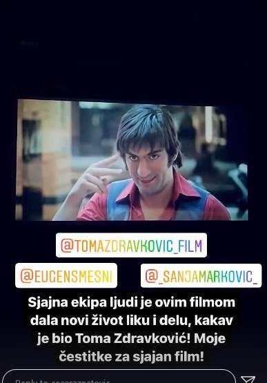 Ceca Ražnatović o filmu Toma