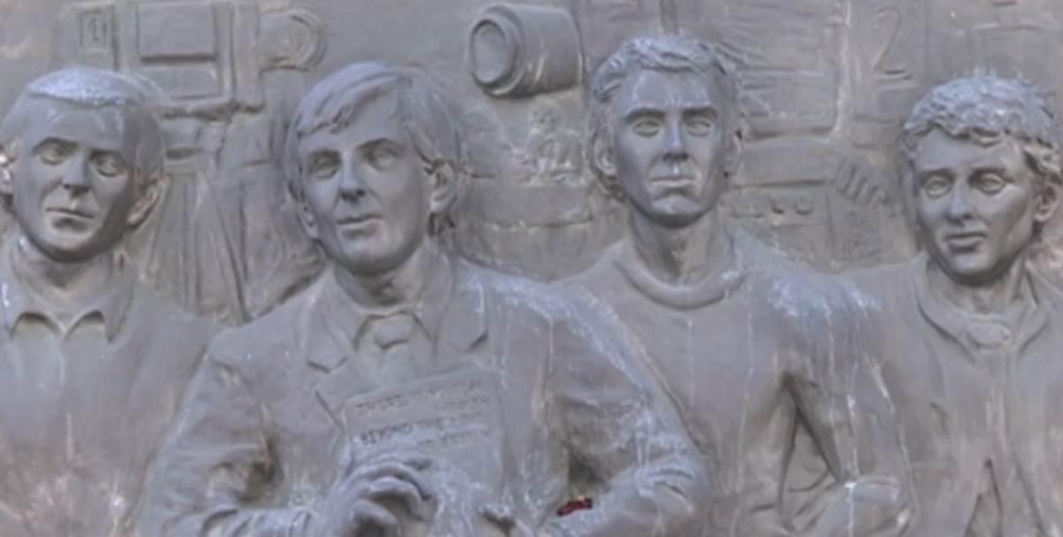 Spomenik Bori Petroviću, Dejanu Milićeviću, Sretenu Iliću i Zoranu Amidžiću