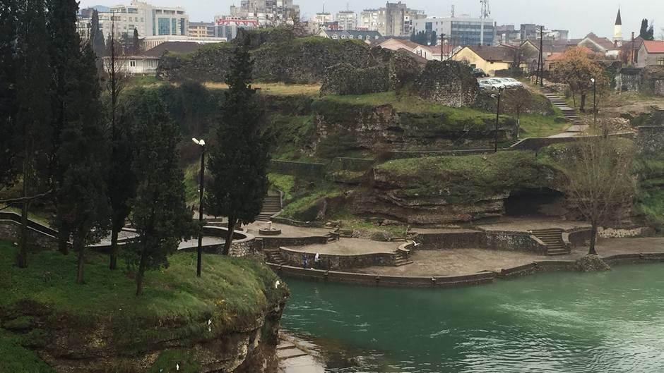 Skaline Morača Podgorica rijeka