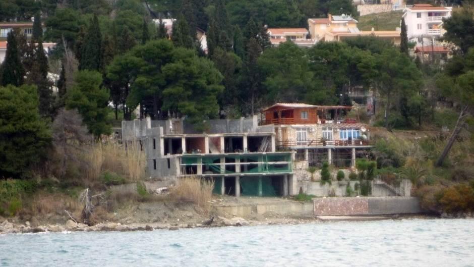 divlja gradnja na obali